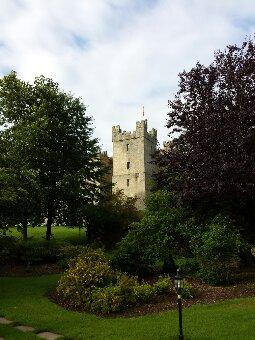 Langley Castle built in 1350