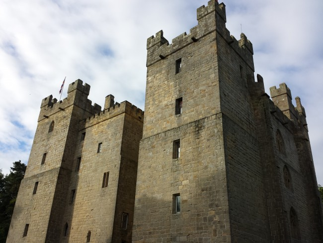 The seven foot thick walls of Langley Castle provide a safe and cosy haven to escape the outside world.