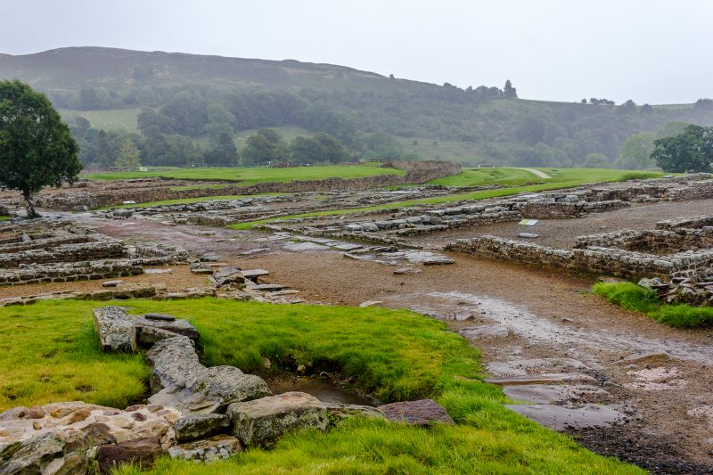 Vindolanda Roman Fort - Northumberland UK (copyright D Bennetto)