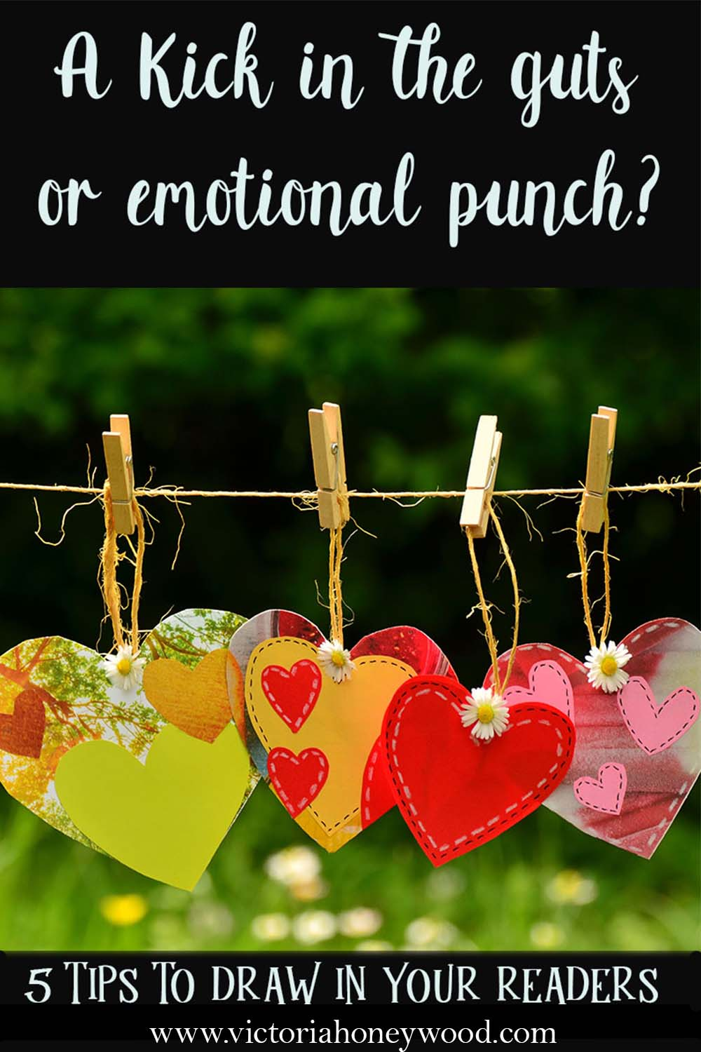 Tips and tricks to help you add more emotional punch to your writing.