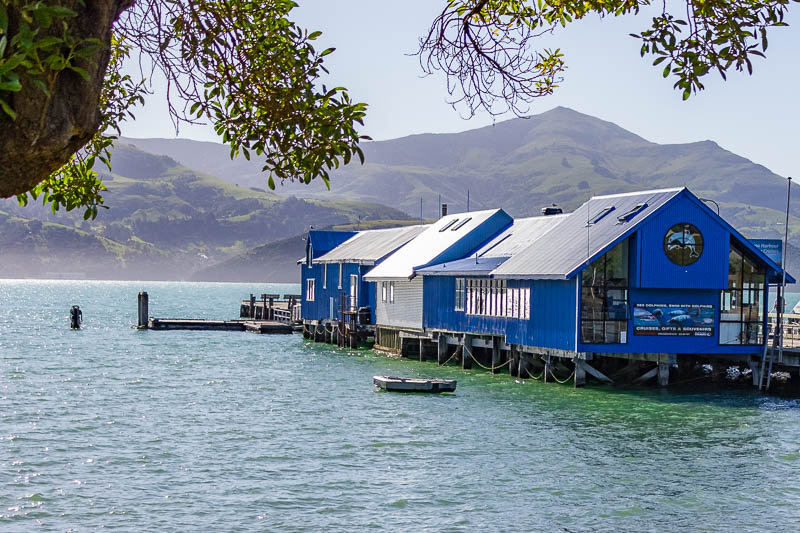 Boathouse at Akaroa