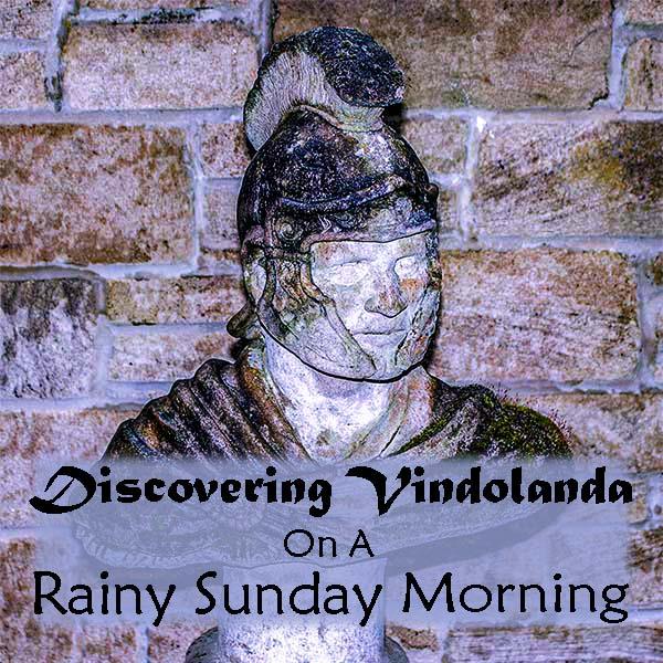 Vindolanda is a Roman  Settlement in Northumberland, England