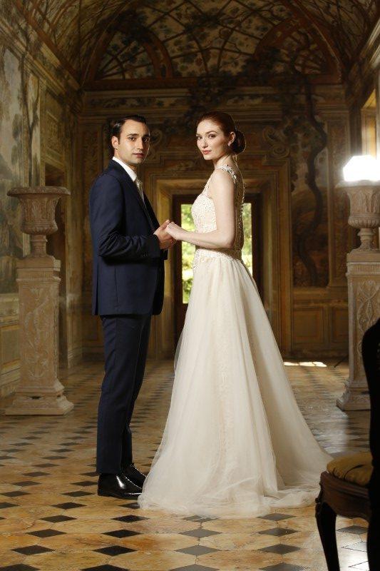 Eleanor Tomlinson and Tiziano Caputo from Love Wedding Repeat