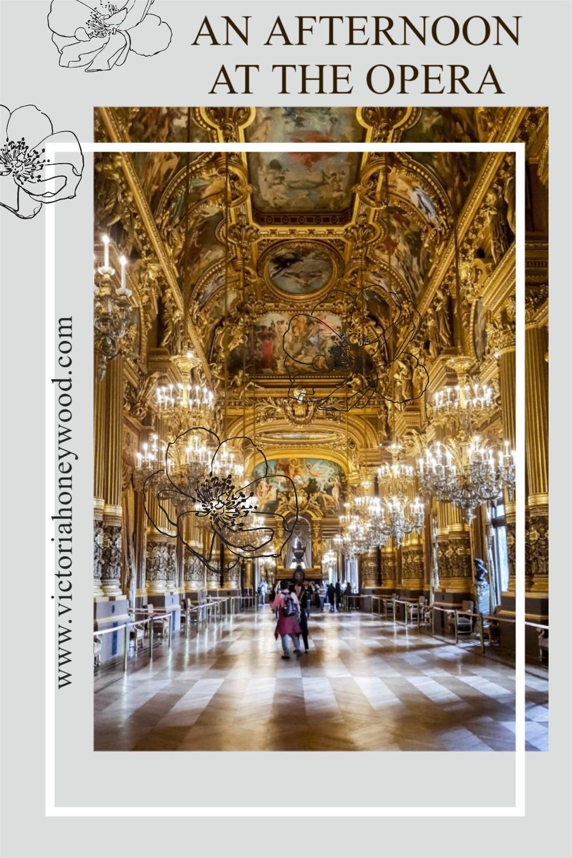 The Palais Garnier, otherwise known as the Paris Opera.